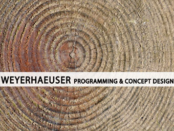 Document Editing – Weyerhaeuser Programming & Concept Design