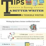 [Infographic] Want To Become a Better Writer? Advice from a Former Bad Writer