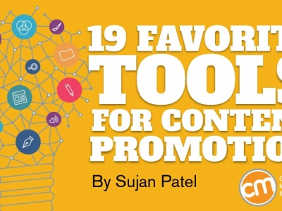 19 Favorite Tools for Content Promotion in 2017