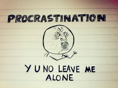 Count by days and other brilliant hacks to break the procrastination habit
