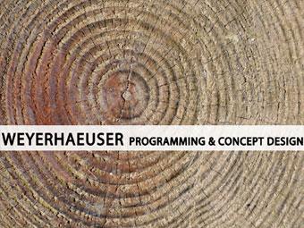 Document Editing – Weyerhaeuser Programming & Concept Design