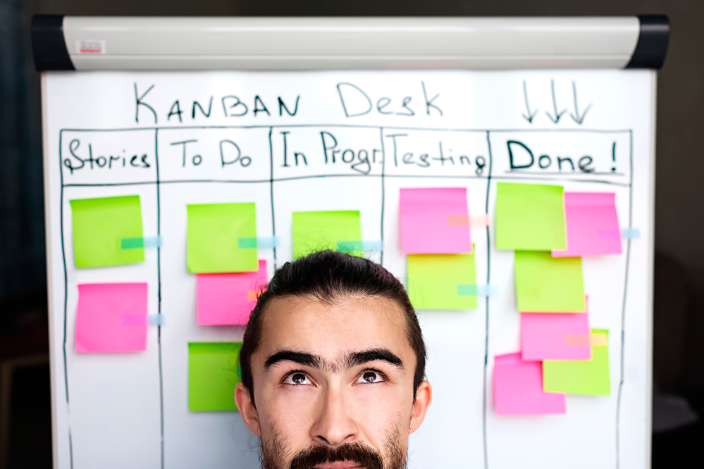 Lean Kanban helps project managers in software and manufacturing succeed.
